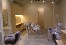 京都市右京区の美容院改装