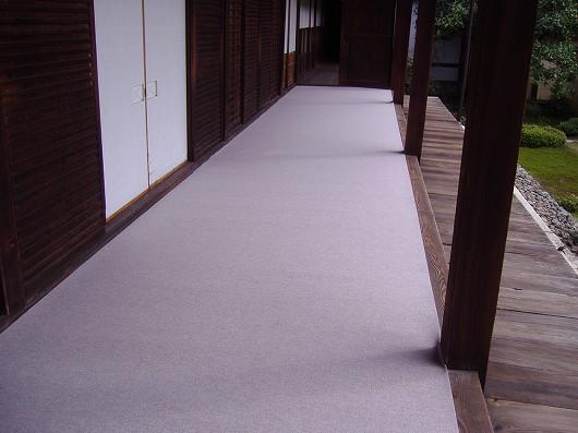 京都お寺の絨毯リフォーム