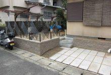 京都市伏見区にて、外構のリフォーム