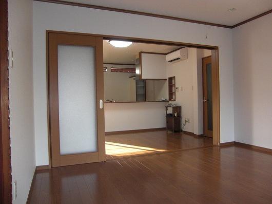 滋賀県守山市のリビングキッチンをリフォーム