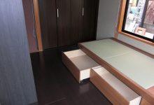 滋賀県大津市のお宅の和室畳を、フローリングへ