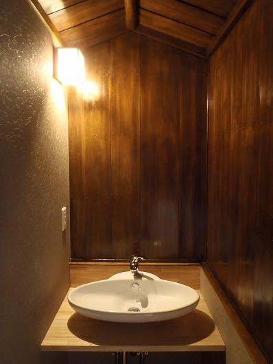 京都市上京区 和風在来浴室工事