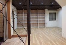 京都市左京区の住宅を事務所へ改修工事