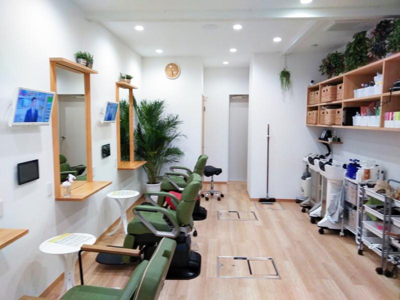 京都市伏見区 店舗、美容室リノベーション工事