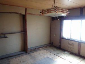 京都戸建てリフォーム施工前