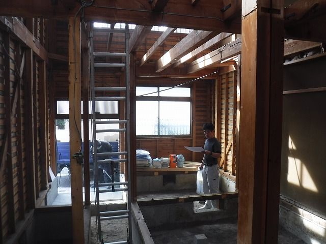 京都市中京区住設機器総入れ替えのリノベーション