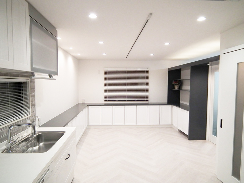 京都市中京区ご自宅でお料理教室をされるためのリノベーション