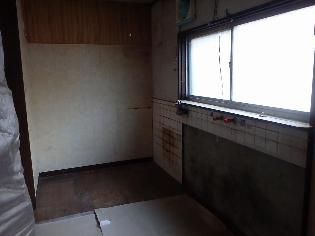 京都市西京区改修工事