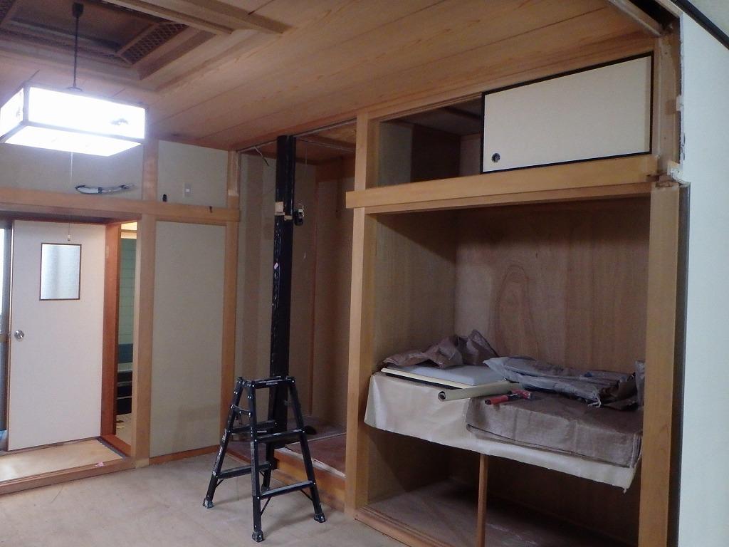 京都市戸建てリノベーション