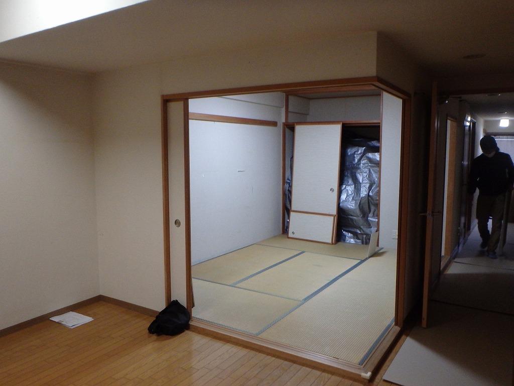 京都市中京区S様 和室から洋室へのリフォーム
