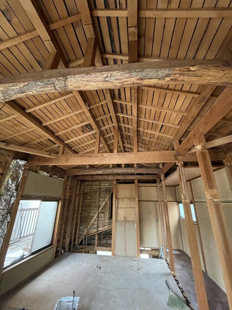 京都市右京区リノベーション工事